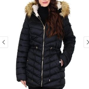 Jessica Simpson quilted puffer jacket.